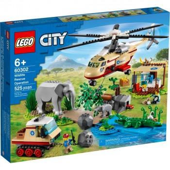 Конструктор LEGO City Операция по спасению зверей 60302