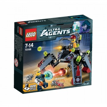 LEGO Ultra Agents Проникновение шпионских пауков 70166