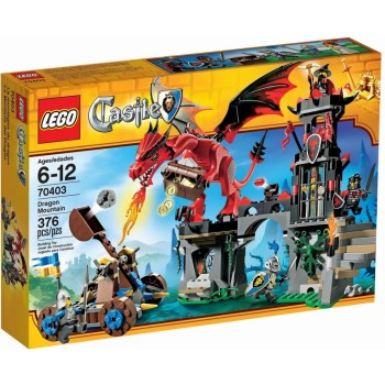 Конструктор LEGO  Castle Гора Дракона