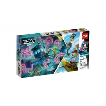 LEGO Home Hidden Side Затонувшая лодка ловцов креветок 70419