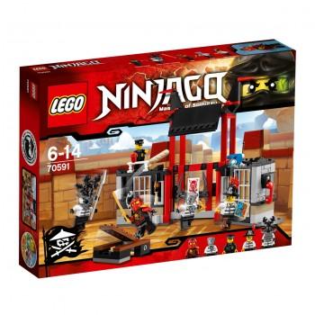 LEGO Ninjago Побег из тюрьмы «Криптариум» 70591