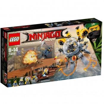 LEGO Ninjago Летающая подводная лодка 70610
