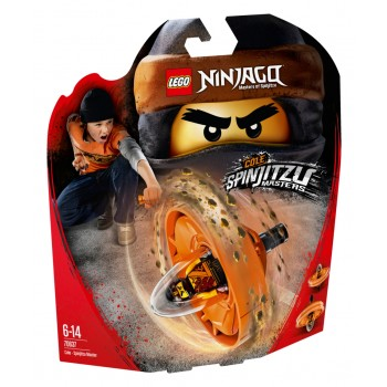 Конструктор LEGO Ninjago Мастер спин-джитсу Коул 70637