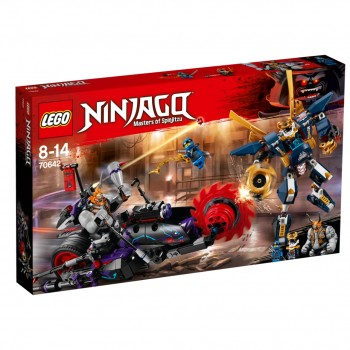 Конструктор LEGO Ninjago Киллоу против Самурая X 70642