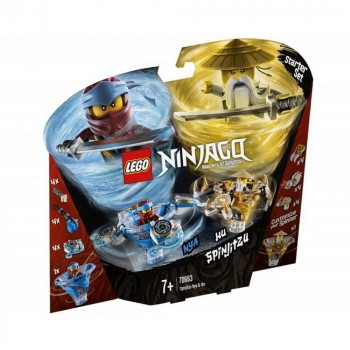 LEGO Ninjago Ния и Ву: мастера Кружитцу 70663