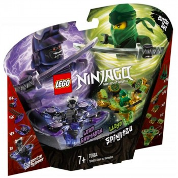LEGO Ninjago Ллойд мастер Кружитцу против Гармадона 70664