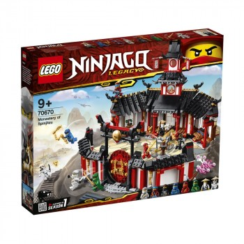 LEGO Ninjago Монастырь Кружитцу 70670