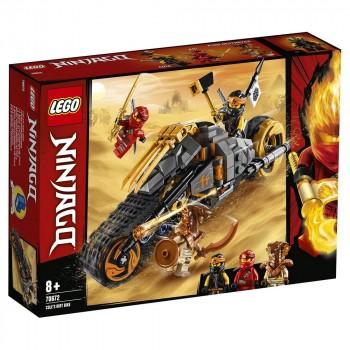 Конструктор LEGO Ninjago Раллийный мотоцикл Коула 70672