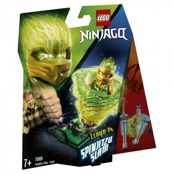 LEGO Ninjago Бой мастеров кружитцу — Ллойд 70681
