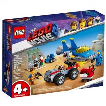 Конструктор LEGO Movie 2 Мастерская «Строим и чиним» Эммета и Бенни! 70821
