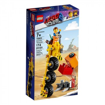 LEGO Movie 2 Трехколёсный велосипед Эммета! 70823