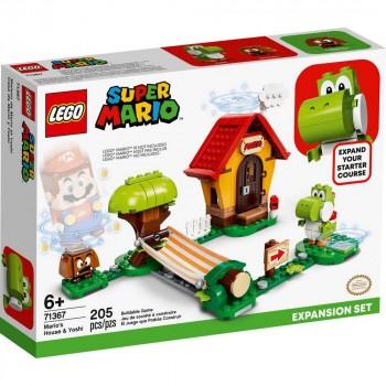 Конструктор LEGO Super Mario Дом Марио и Йоши. Дополнительный набор 71367