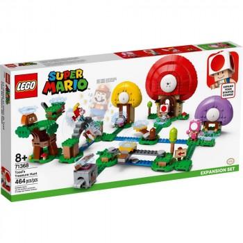 LEGO Super Mario Погоня за сокровищами Тоада. Дополнительный набор 71368