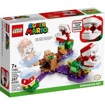 Конструктор LEGO Super Mario Дополнительный набор «Загадочное испытание растения-пираньи» 71382