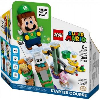 Конструктор LEGO Super Mario Стартовый набор «Приключения вместе с Луиджи» 71387