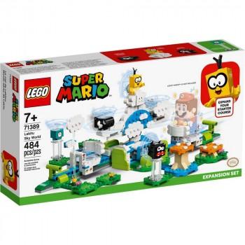 Конструктор LEGO Super Mario Дополнительный набор «Небесный мир лакиту» 71389