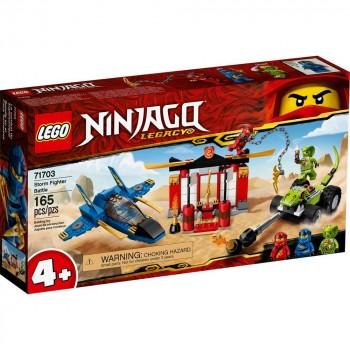 Конструктор LEGO Ninjago Бой на штормовом истребителе 71703