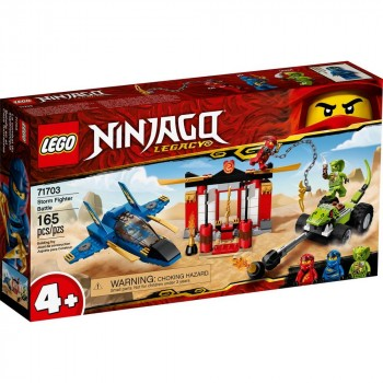 LEGO Ninjago Бой на штормовом истребителе 71703