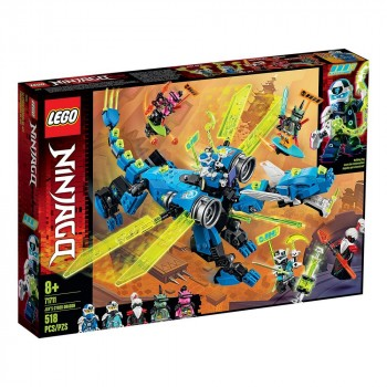 Конструктор LEGO Ninjago Кибердракон Джея 71711