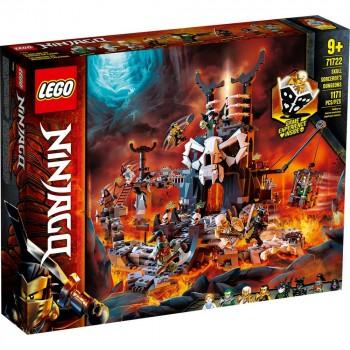 Конструктор LEGO Ninjago Подземелье колдуна-скелета 71722