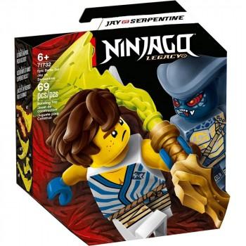 Конструктор LEGO Ninjago Легендарные битвы: Джей против Серпентина 71732