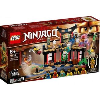Конструктор LEGO Ninjago Турнир стихий 71735