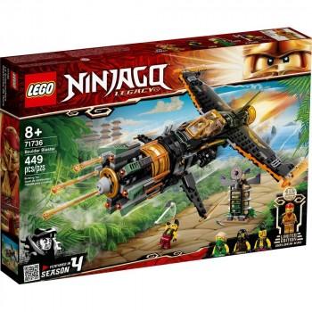 Конструктор LEGO Ninjago Скорострельный истребитель Коула 71736