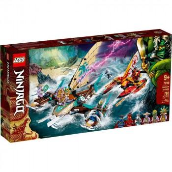 Конструктор LEGO Ninjago Морская битва на катамаране 71748