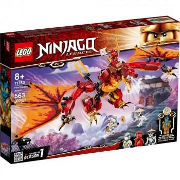 Конструктор LEGO Ninjago Атака огненного дракона 71753