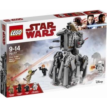 Конструктор LEGO  Star Wars Тяжелый розведывательный шагоход Первого ордена 75177
