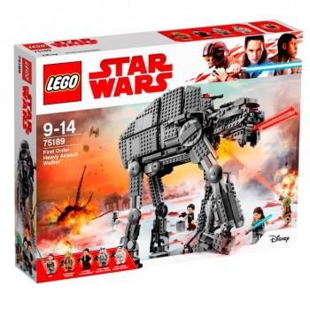 LEGO  Star Wars Тяжёлый шагоход Первого ордена 75189