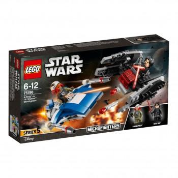 Конструктор LEGO Star Wars Микроистребители A-Винг против тихоход TиАйИ 75196