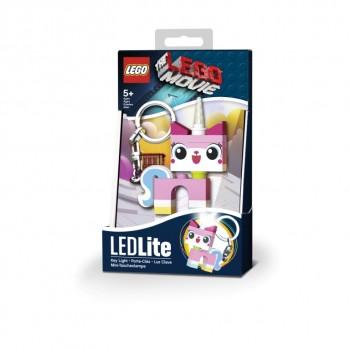 Фонарик-брелок Лего Муви. Unikitty