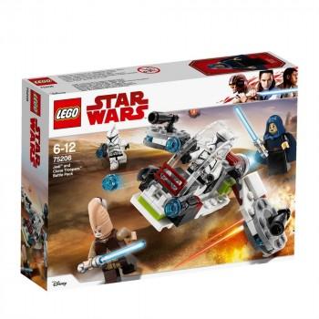 LEGO Star Wars Боевой набор джедаев и клонов-пехотинцев 75206