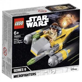 Конструктор LEGO Star Wars Микрофайтеры: Истребитель с планеты Набу 75223