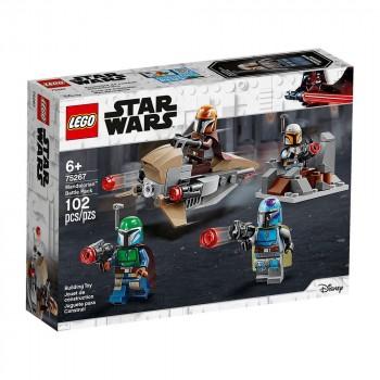 Конструктор LEGO Star Wars Боевой набор: мандалорцы 75267