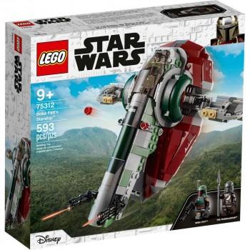 Конструктор LEGO Star Wars Звездолет Бобы Фетта 75312
