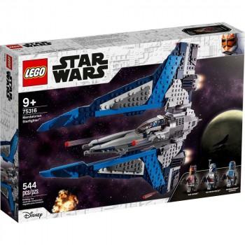 Конструктор LEGO Star Wars Звездный истребитель мандалорцев 75316