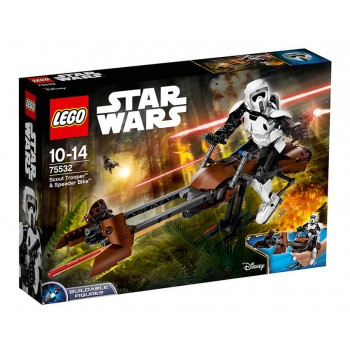 LEGO Star Wars TM Штурмовик-разведчик на спидере 75532