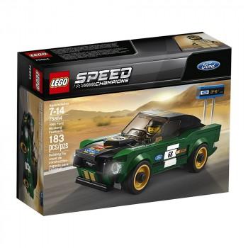 Конструктор LEGO Speed Champions Гоночный Ford Mustang Fastback 1968  75884