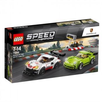 LEGO Speed Champions Porsche 911 RSR и 911 Turbo 75888