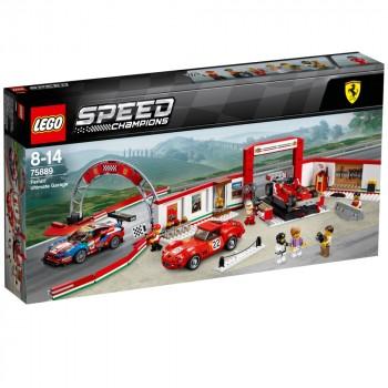 LEGO Speed Champions Уникальный гараж Феррари 75889
