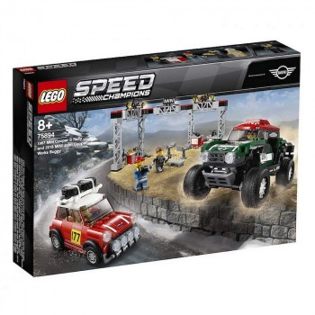 LEGO Speed Champions 1967 Mini Cooper S Rally и 2018 MINI John Cooper Works Buggy 75894