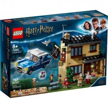 Конструктор LEGO Harry Potter Тисовая улица, дом 4. 75968