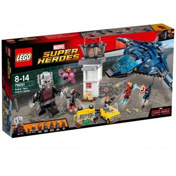 Конструктор LEGO Super Heroes Сражение в аэропорту 76051