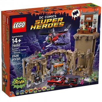 Конструктор LEGO Super Heroes Классическая серия 60-х Пещера Бэтмена 76052