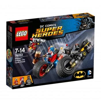 Конструктор LEGO Super Heroes Бэтмен: Погоня на мотоциклах по Готэм-сити 76053