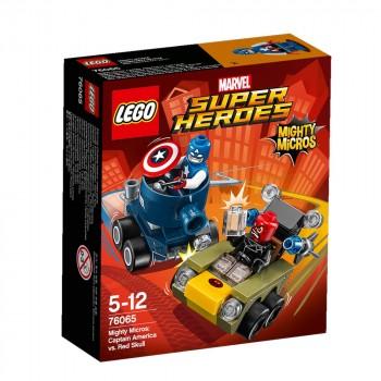 Конструктор LEGO Super Heroes Капитан Америка против Красного Черепа 76065