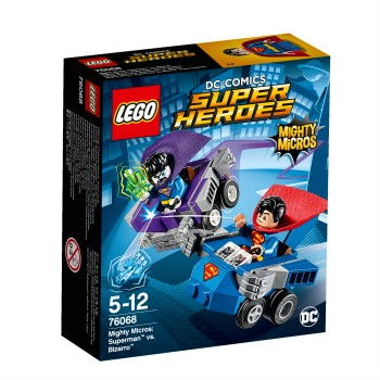 Конструктор LEGO Super Heroes Mighty Micros: Супермен против Бизарро 76068