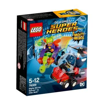 LEGO Super Heroes Mighty Micros: Бэтмен против Мотылька-убийцы 76069
